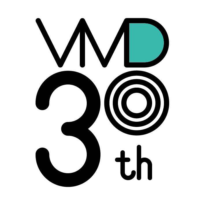 日本ビジュアルマーチャンダイジング協会 創立30周年 ロゴマークデザイン決定!